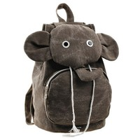 Cute Elephant Canvas Backpack on Luulla