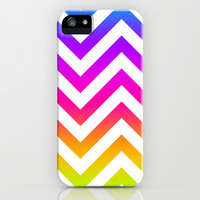 Chevronia III iPhone & iPod Case by Rain Carnival