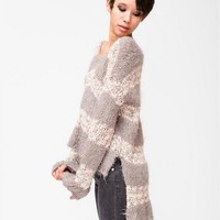 Knitted Cashmere Sweater (Free People)