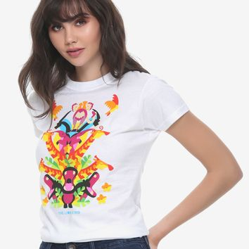 Disney The Lion King Animal Stack Girls T-Shirt