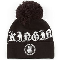 Last Kings Shots Pom Beanie Black One Size For Men 24591610001
