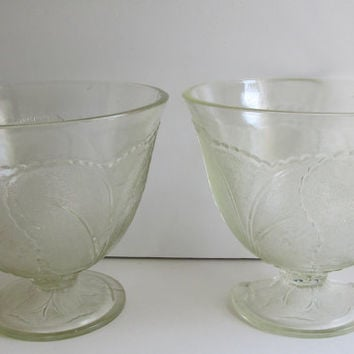 2 Antique Victorian Punch Bowl Sets Glass Punch Bowl Wedding Set Antique Wedding 1800s Victorian Punch Bowl Set EAPG Pressed Glass Bowl