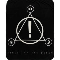Panic! At The Disco Logo Plush Throw Blanket