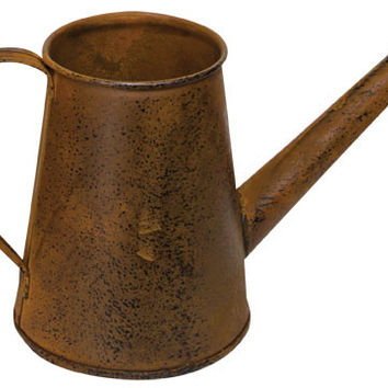 """Watering Can - Rust/Black 4"""" - Decor"""