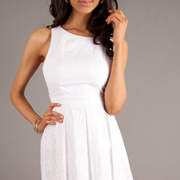 Short Sleeveless Graduation Dress