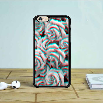 Trippy 3D Roses iPhone 6 Case Dewantary