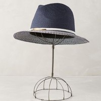 Navigado Fedora by Eugenia Kim Navy One Size Hats