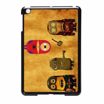 Despicable Me Minion Avengers Funny iPad Mini Case