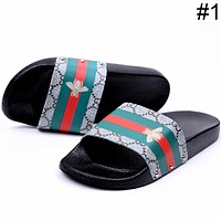 GUCCI 2018 trendy men and women couple models indoor and outdoor beach F0460-1 #1