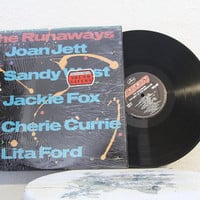 "The Runaways - ""The Best Of The Runaways"" vinyl record (NT)"