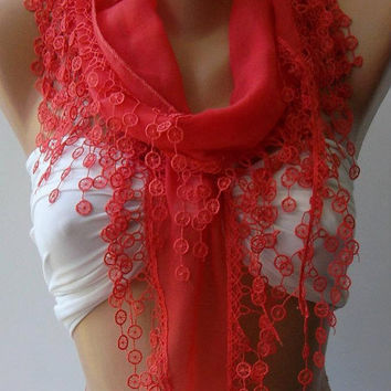 pomegranate flower - Cotton/ Traditional Turkish fabric -Anatolian Shawl/,,