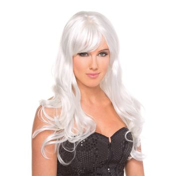 BeWicked BW095WT Hollywood Wig White