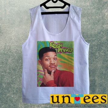 Men's Basic Tank Top - Will Smith The Fresh Prince of Bel Air Design