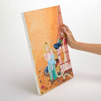 Painting primed canvas Handmade Eco friendly Home decoration designer Gift ideas
