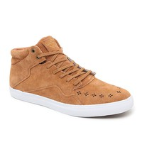 Diamond Supply Co Folk Mid Light Brown Shoes - Mens Shoes - Light Brown