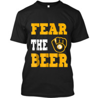 Fear The Beer Brewers  Custom Ultra Cotton
