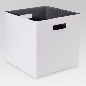 "Fabric Cube Storage Bin (13"") - Threshold™"