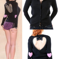 Locket of Love Cardigan by Lucky 13