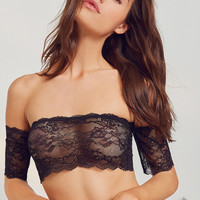 Out From Under Auri Lace Off-The-Shoulder Bra | Urban Outfitters
