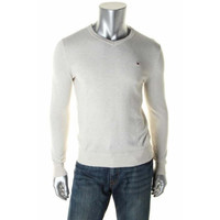 Tommy Hilfiger Mens Modal Blend Long Sleeves Pullover Sweater