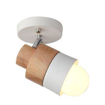 Wooden Wall Sconce Lighting Fixtures - Free Shipping