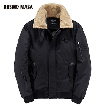 Cotton Winter Jacket Parka For Men Fashion Clothes Coat Campera Puffer Jackets Mens Down Parkas