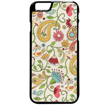 Vintage Paisley Cute Twitte For iPhone 6 Plus Case *ST*