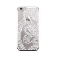 Henna Full Paisley iPhone 6 Plus / 6S Plus Case Clear