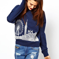ASOS Sweat with London Scene