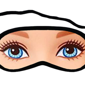 Barbie eyes Sleep Mask for your Sleeping.