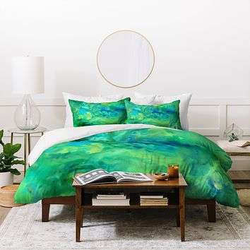 Rosie Brown Jungle Fever Duvet Cover