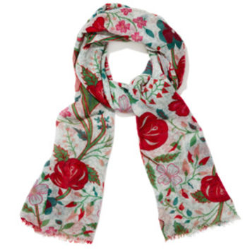 Graphic Chintz Pattern Scarf