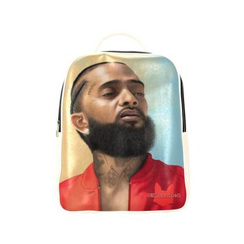 Nipsey Hussle Book Bag Vegan Leather (Adult)
