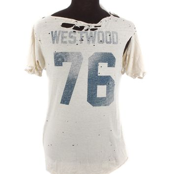 Byronesque Westwood Distressed T-Shirt