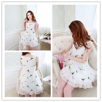 Clearance : embroidery dress clearance ghl0029