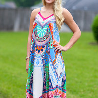 Wild Magic Scarf Dress