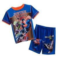 Justice League Pajama Set - Boys