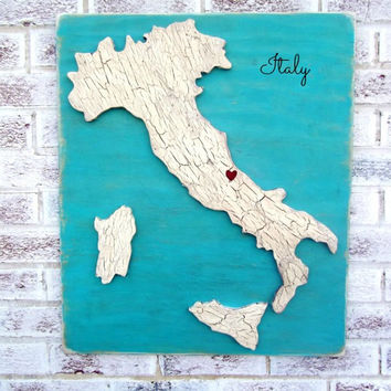 Map Wedding Guest Book, Customized map, wedding signs, Your state country USA map w/ heart marking loc, Hawaii Italy France Beach Punta Cana