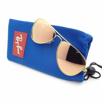 Ray Ban Kids RJ 9506 S 50 249/2Y Matte Gold Copper Flash New Authentic Sunglass