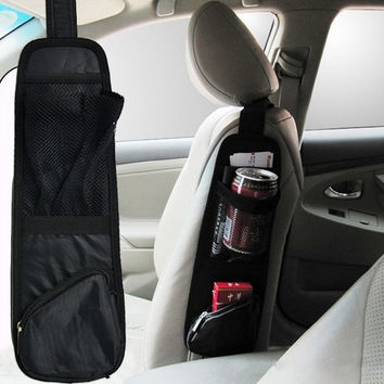Auto Car Seat Side Back Storage Pocket Backseat Organizer Waterproof Fabric D_L [7898283079]