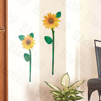 Waving - Wall Decals Stickers Appliques Home Decor
