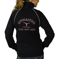 Embroidered Gymnastics Track Jacket from Zazzle.com