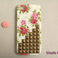 Floral IPhone 5 Case, Studded IPhon.. on Luulla