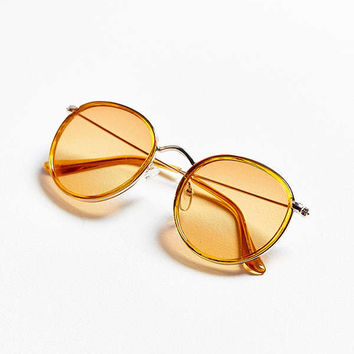 Charlie Metal Round Sunglasses | Urban Outfitters