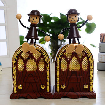 Music Box European Restore Ancient Plastic The Music Box Decoration Goods Of Furniture For Display Than For Use Lovers Gift