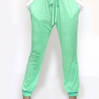 MINT CANDY JOGGERS