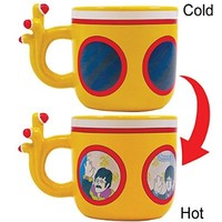 Beatles Yellow Submarine Morphing Mug - John, Paul, George & Ringo Shaped Cup