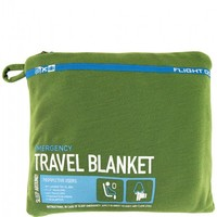 Flight 001 – Where Travel Begins. F1 Travel Emergency Blanket - In-flight Comfort - Flight 001 Products