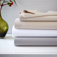 400-Thread-Count Organic Cotton Percale Sheet Set