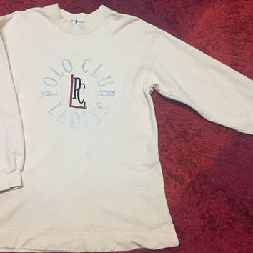 POLO CLUB LADIES sweatshirt vintage design